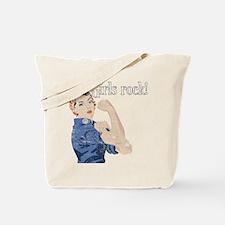 Girls Rock! (vintage) Tote Bag