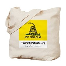 Tea Party Patriots Tote Bag