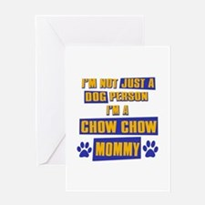 Chow Chow Mommy Greeting Card