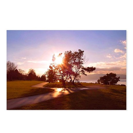 Bellingham Bay Sunset Postcards (Package of 8)