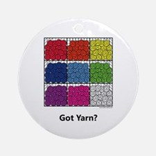Got Yarn? Ornament (Round)