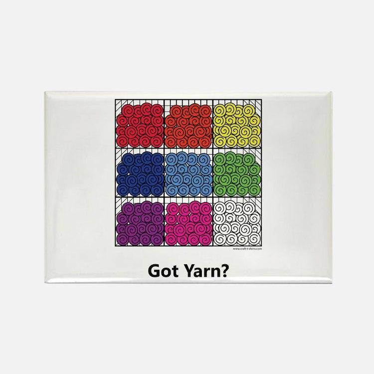Got Yarn? Rectangle Magnet (100 pack)