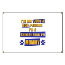 Chinese Shar-pei Mommy Banner