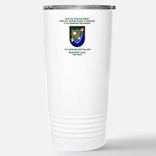 1st Ranger Battalion Flash Travel Mug