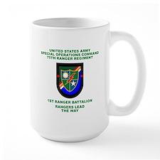 1st Ranger Battalion Flash Mug