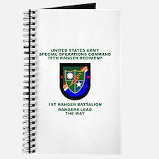 1st Ranger Battalion Flash Journal