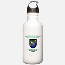 1st Ranger Battalion Flash Water Bottle