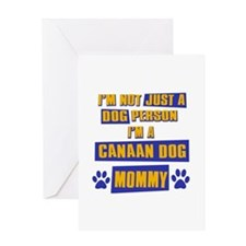Canaan Dog Mommy Greeting Card