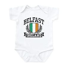 Belfast Ireland Onesie