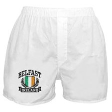 Belfast Ireland Boxer Shorts