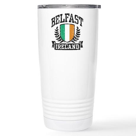 Belfast Ireland Stainless Steel Travel Mug