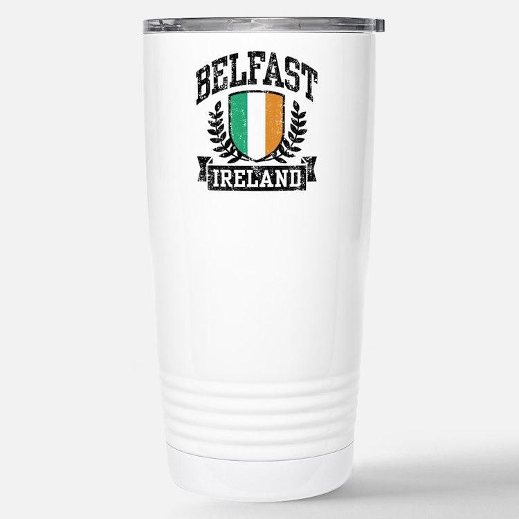 Belfast Ireland Travel Mug