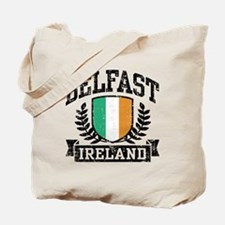 Belfast Ireland Tote Bag