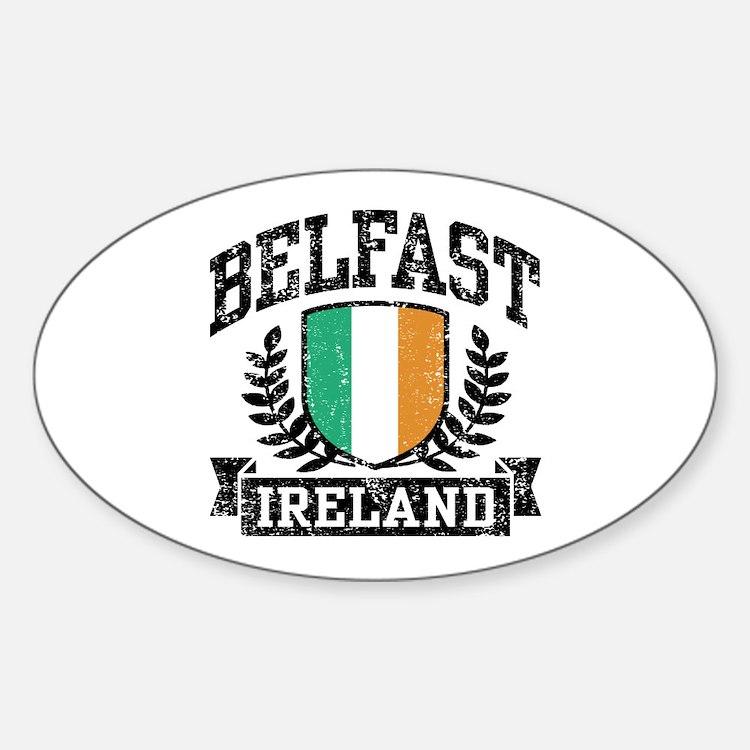 Belfast Ireland Decal