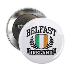 """Belfast Ireland 2.25"""" Button"""
