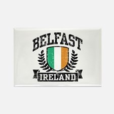 Belfast Ireland Rectangle Magnet