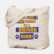Briard Mommy Tote Bag