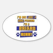 Briard Mommy Decal