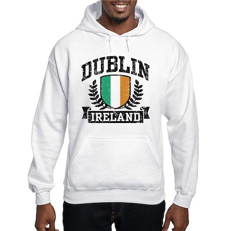 Dublin Ireland Hooded Sweatshirt