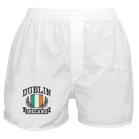 Dublin Ireland Boxer Shorts