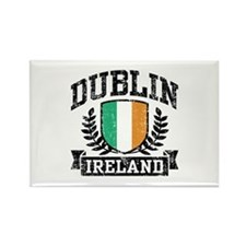Dublin Ireland Rectangle Magnet