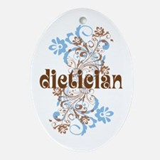 Dietician Gift Ornament (Oval)