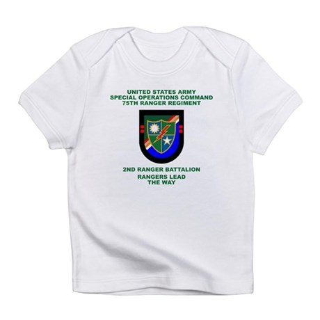 2nd Ranger Battalion Flash Infant T-Shirt