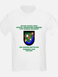 2nd Ranger Battalion Flash T-Shirt