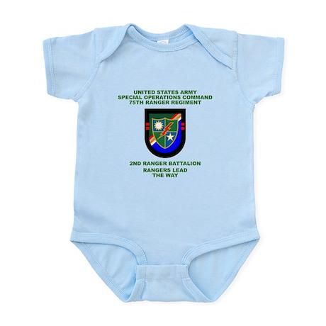 2nd Ranger Battalion Flash Infant Bodysuit