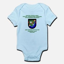 2nd Ranger Battalion Flash Infant Bodysuit