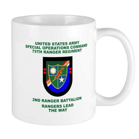 2nd Ranger Battalion Flash Mug