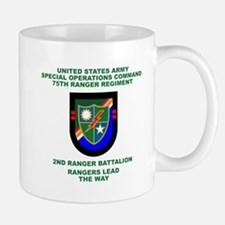 2nd Ranger Battalion Flash Mug