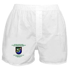 2nd Ranger Battalion Flash Boxer Shorts