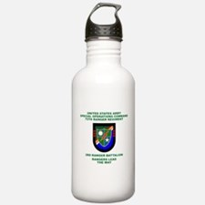 3rd Ranger Battalion Flash Sports Water Bottle