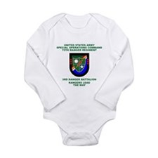 3rd Ranger Battalion Flash Long Sleeve Infant Body