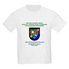 3rd Ranger Battalion Flash T-Shirt