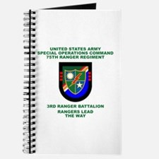 3rd Ranger Battalion Flash Journal