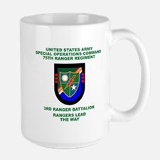 3rd Ranger Battalion Flash Mug