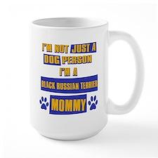 Black Russian terrier Mommy Mug