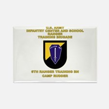 6th RTB Flash Rectangle Magnet