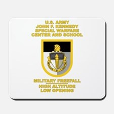 Special Warfare Center MFF Mousepad