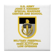 Special Warfare Center MFF Tile Coaster