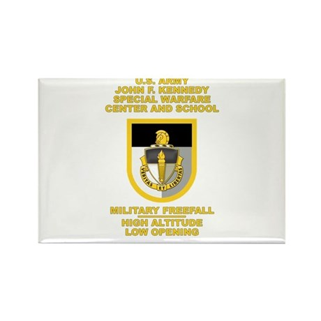 Special Warfare Center MFF Rectangle Magnet