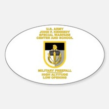 Special Warfare Center MFF Decal