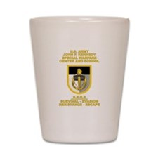 Special Warfare Center SERE Shot Glass