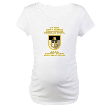 Special Warfare Center SERE Maternity T-Shirt