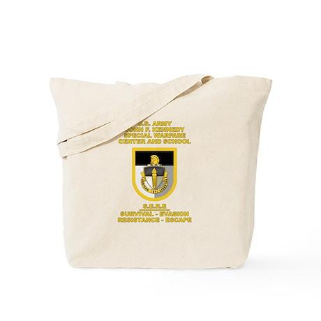 Special Warfare Center SERE Tote Bag