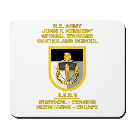 Special Warfare Center SERE Mousepad