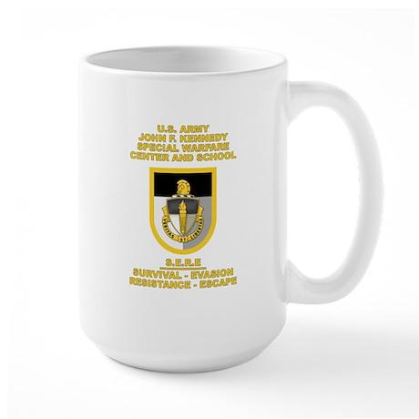 Special Warfare Center SERE Large Mug