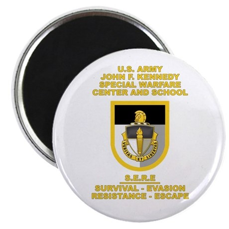 "Special Warfare Center SERE 2.25"" Magnet (10 pack)"